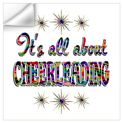 About Cheerleading Wall Art Wall Decal