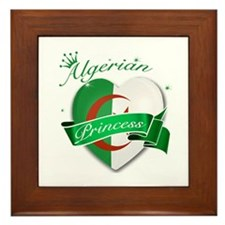 Algerian Princess Framed Tile