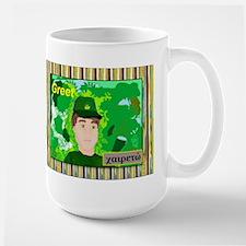 Large Mug Greet with the Greek word.