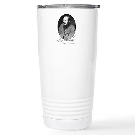 Dostoevsky Stuff Stainless Steel Travel Mug