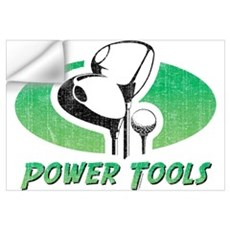 Golf Power Tools Wall Art Wall Decal