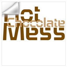 Hot Chocolate Mess Wall Art Wall Decal