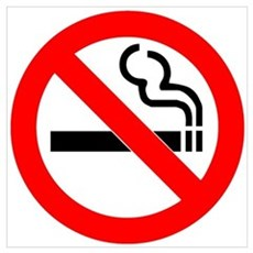 No Smoking Wall Art Framed Print