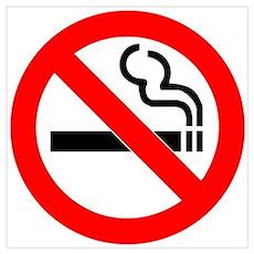 No Smoking Wall Art Poster