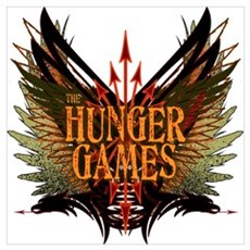 Flight of Arrows The Hunger Games Wall Art Canvas Art