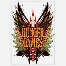 Flight of Arrows The Hunger Games Wall Art