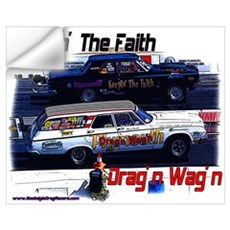 Drag'n Wag'n & Keepin' The Fa Wall Art Wall Decal