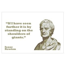 Newton - Giants Wall Art Poster