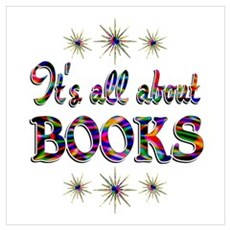 About Books Wall Art Poster