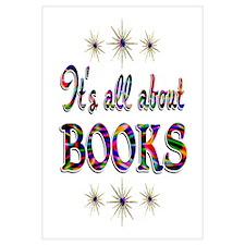 About Books Wall Art