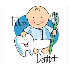 Future Dentist Wall Art Poster