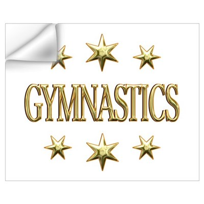 Gymnastics Stars Wall Art Wall Decal