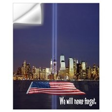 9-11 We Will Never Forget Wall Art Wall Decal