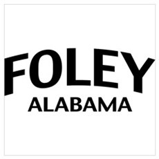 Foley Alabama Wall Art Poster