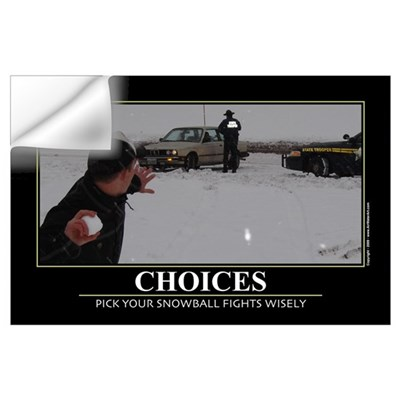 Choices. Wall Art Wall Decal
