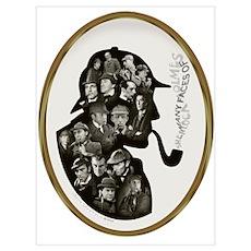 Many Faces v2 Wall Art Poster