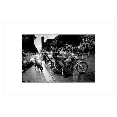 Bikes Poster Poster