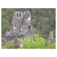 castle Wall Art Poster