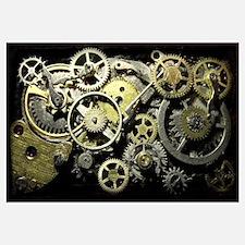 SteamPunk Gears Wall Art