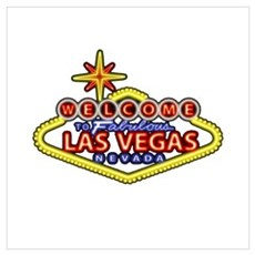 Las Vegas Sign Wall Art Poster