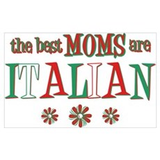 Italian Moms Wall Art Framed Print