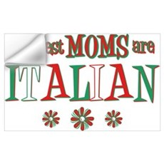 Italian Moms Wall Art Wall Decal