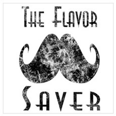 Vintage Flavor Saver Wall Art Framed Print