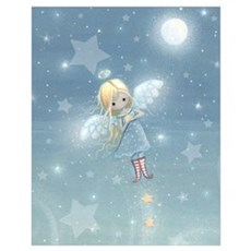 Star Angel Wall Art Poster