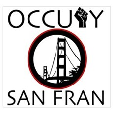 Occupy San Fransisco Wall Art Poster