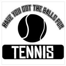 Got the balls for Tennis Wall Art Framed Print