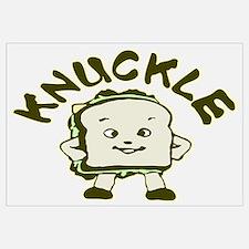 Funny Knuckle Sandwich Wall Art