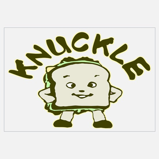 Funny Knuckle Sandwich Wall Art