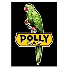 Polly Gas Wall Art Poster