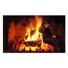 Fireplace Decal