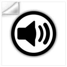 Audio Speaker Wall Art Wall Decal