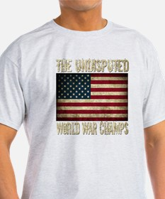 Unique Back to back world war champs T-Shirt