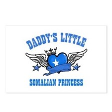 Daddy's Little Somalian Princess Postcards (Packag