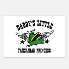 Daddy's Little Tanzanian Princess Postcards (Packa