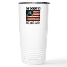 Unique State champions Thermos Mug
