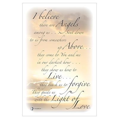 Angels Among Us Wall Art Poster