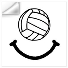 Volleyball Smile Wall Art Wall Decal