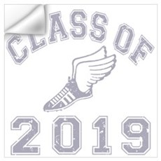 Class Of 2019 Track & Field Wall Art Wall Decal
