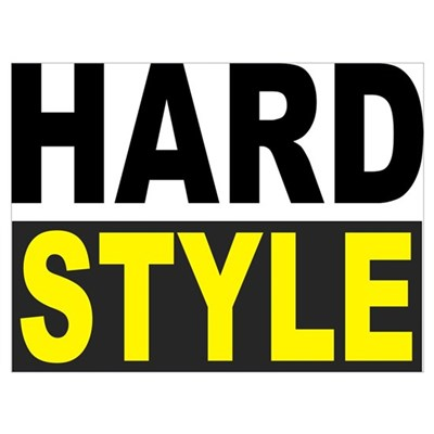 Hardstyle Wall Art Poster
