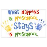 Preschool Posters