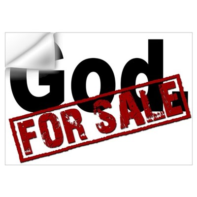 God. FOR SALE Wall Art Wall Decal