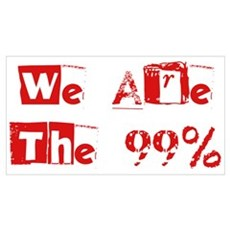 We Are The 99% #2 Wall Art Framed Print