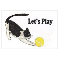 Lets Play Wall Art Canvas Art