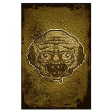 The Zombie (Distressed) Wall Art Poster