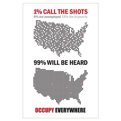 99 percent Wall Art Poster