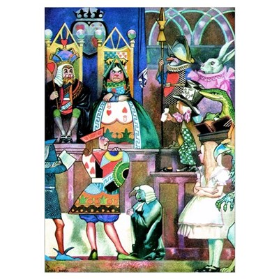 ALICE IN WONDERLAND Wall Art Poster